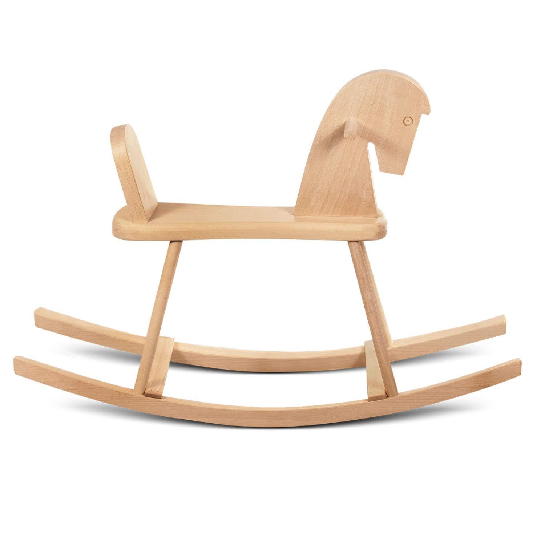 STOL-HAND - Caballito de madera de haya.