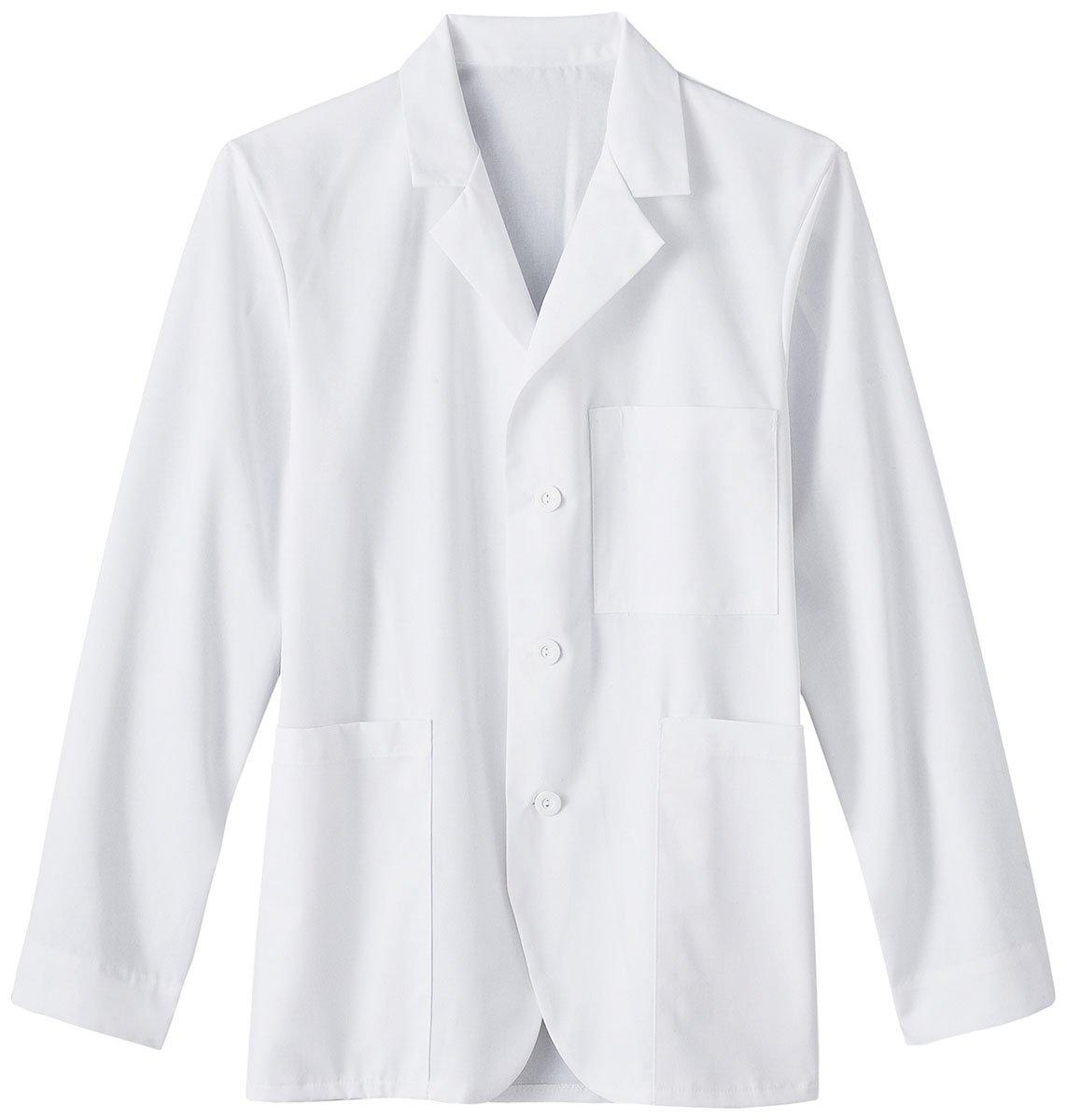 Meta Labwear Unisex 7-Pocket 30''; Lab Coat Small White