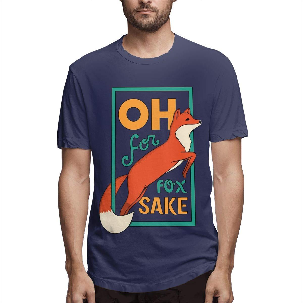 Oh For Fox Sake S Cool Short Sleeve Tshirt Navy