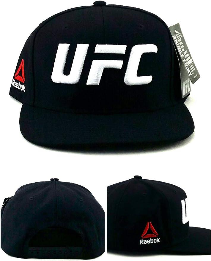 Reebok UFC New RBK MMA - Gorra de Boxeo, Color Blanco y Negro ...