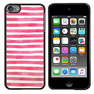 Eason Shop / Premium SLIM PC / Aliminium Casa Carcasa Funda Case Bandera Cover - Bandera azul blanca roja Usa - For Apple iPod Touch 6 6th Touch6