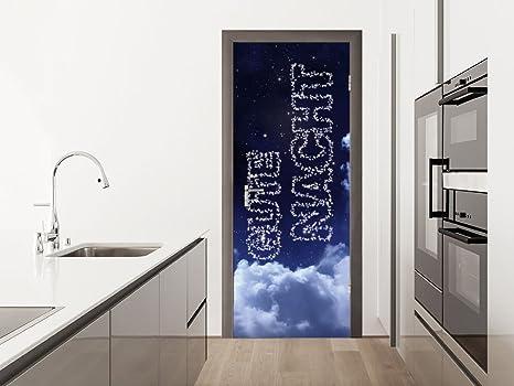 Posters Per Camera Da Letto : Graz design apos adesivo per porta poster per camera da letto con
