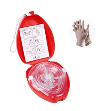 CPR Mascarilla de primeros auxilios con conexión de oxígeno ...