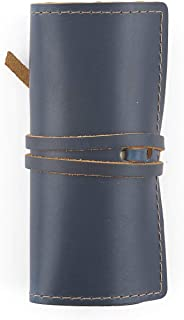 product image for Rustico Top Grain Leather Cord Wrap - Perfect for Travel and Organization (Ocean)