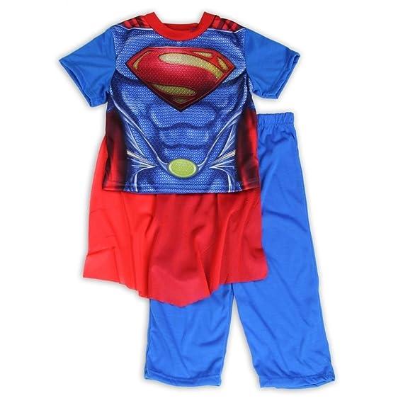 Flame Resistant SUPERMAN 4-8 boys 2-Piece Pajama Set Sleepwear