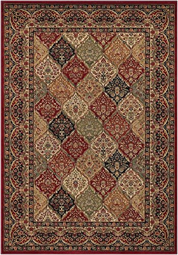 Rug Empire Panel Kerman Claret Area Rug, - Claret Traditional Rug Shopping Results