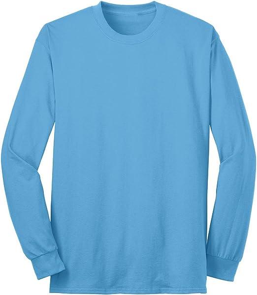 Port /& Company Mens Comfort Wrinkle Resistant T-Shirt/_Ash/_X-Large
