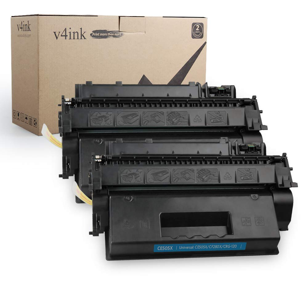 Toner Alternativo ( X2 ) Alta Capacidad Negro 2PK 05X CE505X P2055dn P2055 P2055D P2055X 400 400 M401n M401dne M401dw MF