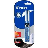 Pilot V5 Liquid Ink Roller Ball Pen - Pack of 2, Blue