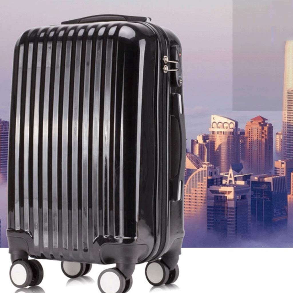 Boarding Travel Lock Box 26 Anti-Collision Trolley Case Color : White, Size : 20 inches HUANGDA Fashion Travel Lock Box