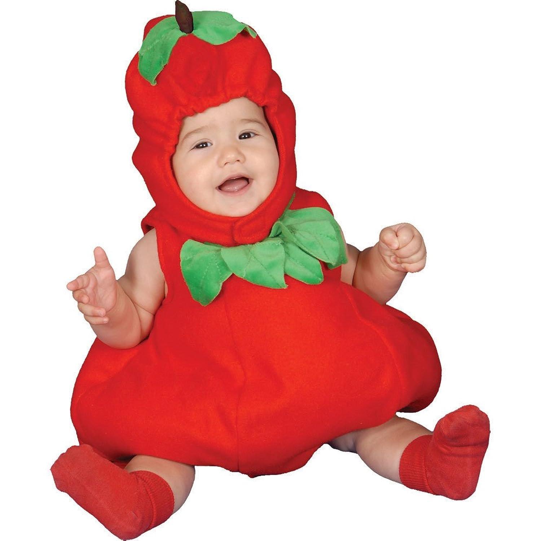 Amazon.com: Dress Up America Baby Apple: Clothing