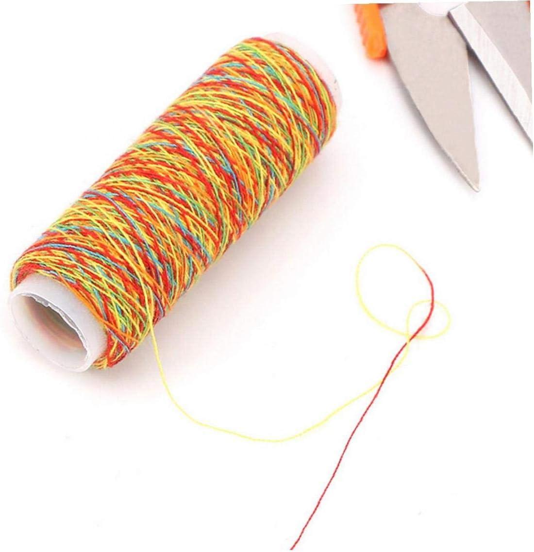 Poliestere Cucito 5pcs Discussione Per Quilting Stitching Casa Linea Di Alimentazione Per Cucire Macchina Da Cucire Discussione