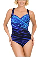 Kirkland Signature By Miraclesuit Shirred One Piece Swimsuit