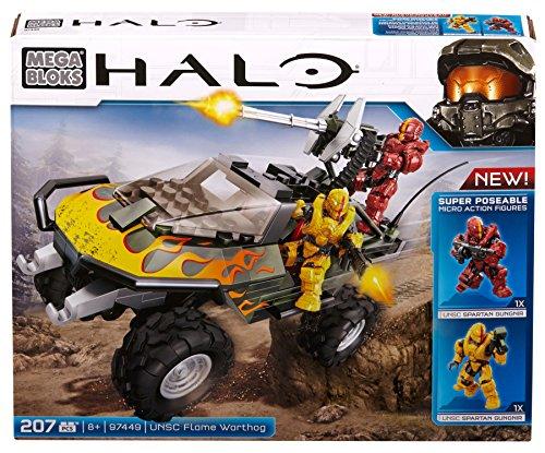Mega Bloks Halo UNSC Flame Warthog (Halo Odd Pods)