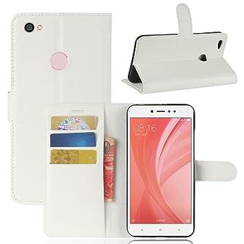 Guran® Funda de Cuero PU Para Xiaomi Redmi Note 5A Smartphone ...