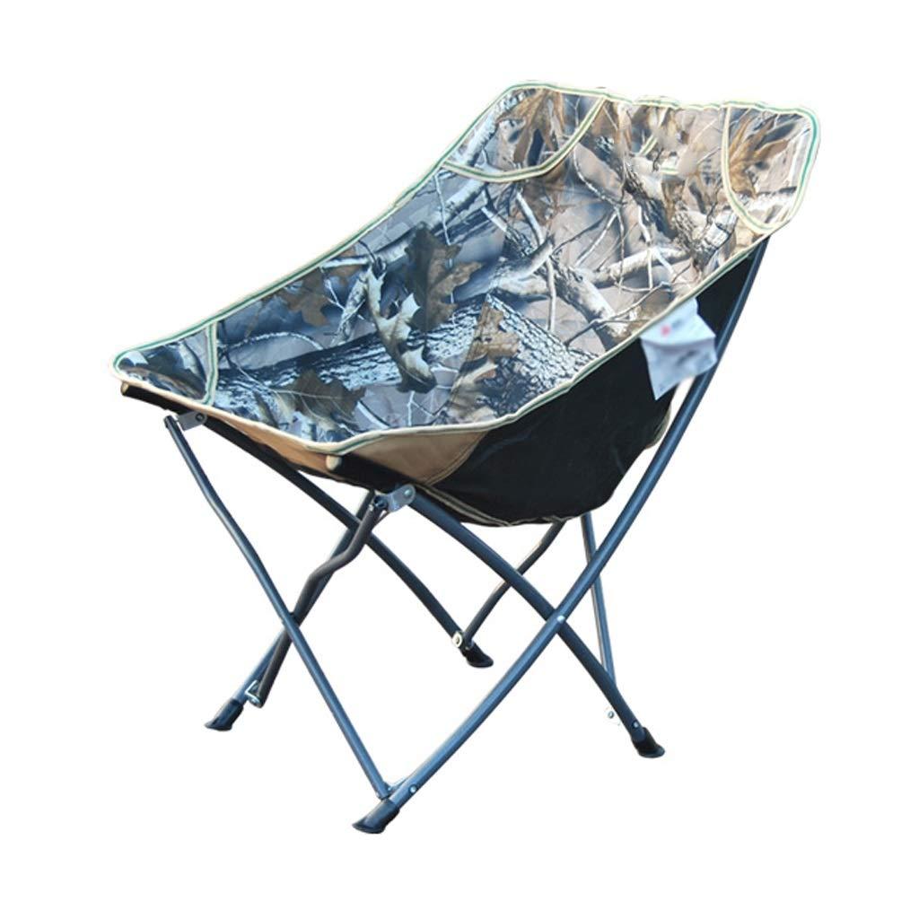 キャンプチェア 折りたたみ椅子 ポータブル アウトドア ハイカー ビーチ 釣り キャンプ スケッチチェア カモフラージュ 最大負荷140KG   B07LF74Q41