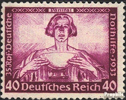 Prophila Collection Deutsches Reich 507 1933 R.Wagner (Briefmarken für Sammler) Musik / Tanz