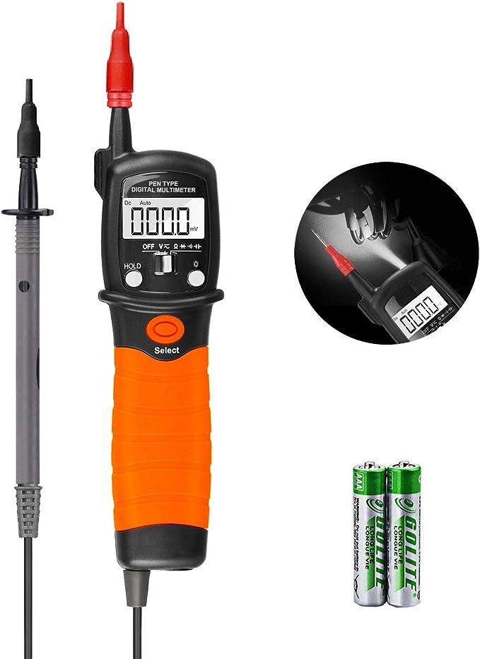 Digital Multimeter Durchgangsprüfer Multimeter Voltmeter Ac Dc Multi Tester Spannung Strom Widerstand Durchgangsprüfung Für Professionelle Anwender Baumarkt