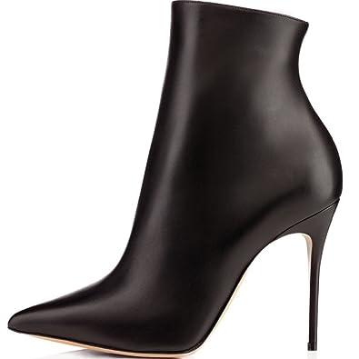 51b3485a884 Eldof Women High Heel Boots