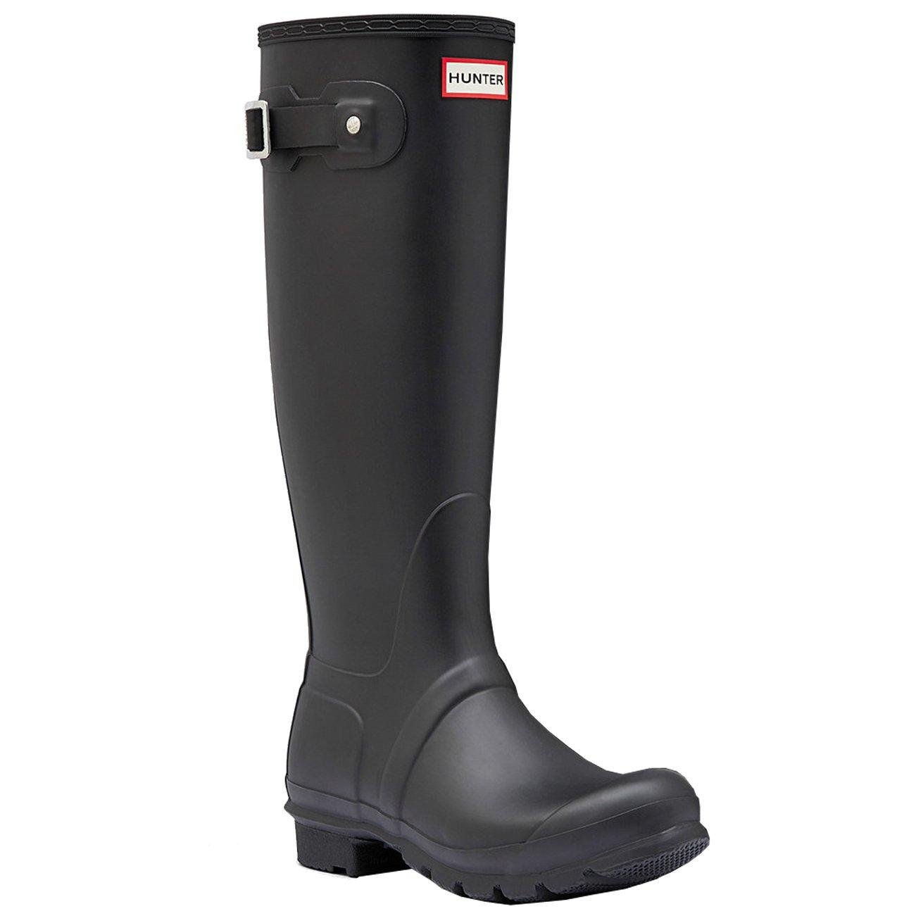 Amazon.com: Womens Hunter Original Tall Wellington Waterproof Winter Snow  Rain Boots: Shoes