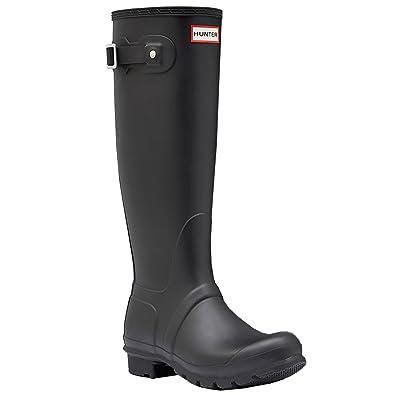 ca659bd5cb1 Women's Hunter Boots Original Tall Snow Rain Waterproof Boots - Black - 8