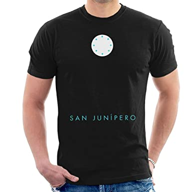 bc203a1be Black Mirror San Junipero Men's T-Shirt: Amazon.co.uk: Clothing