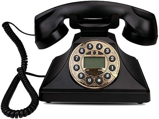 Diseño Retro con Cable Teléfono Antiguo - No batería Clásico ...