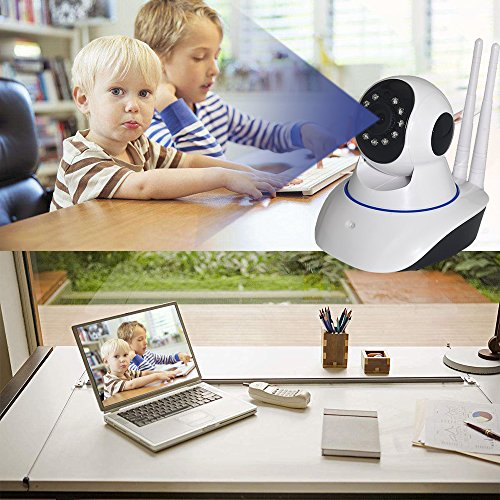 Auto Safety Wireless Camera HD 720P Security Network Surveillance Camera, Remote Motion Detect Alert Infrared Night Vision, Baby Monitor IP Camera,PC/iPhone/ Android View by Auto safety