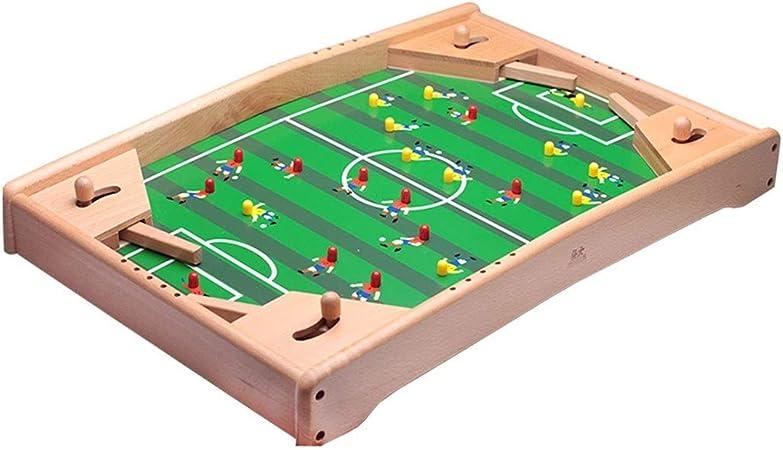 Futbolines Juguetes Mejor Regalo del Fútbol De La Tabla Mesa De La Máquina Mesa De Fútbol Doble Rompecabezas Juego De Mesa Infantil For Niños (Color : Green, Size : 37.5 * 57 * 6cm): Amazon.es: Hogar