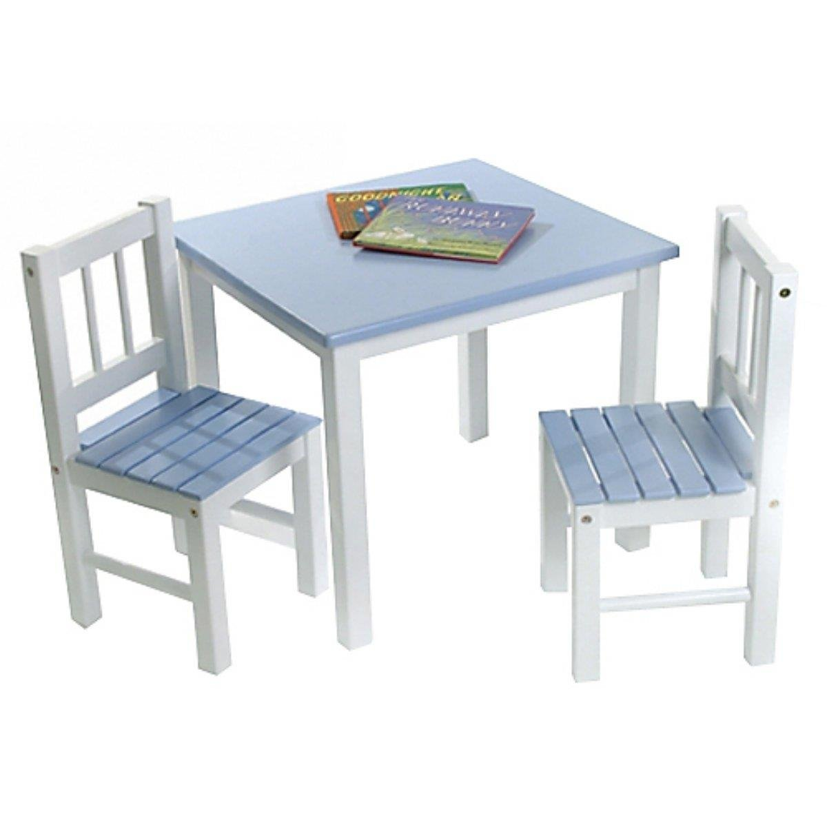 Amazon Lipper International 513BL Child s Table and 2 Chairs
