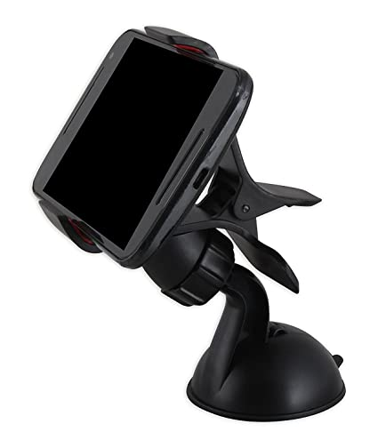 generic Universal Car Mount Windshield Mobile Holder Stand  Black
