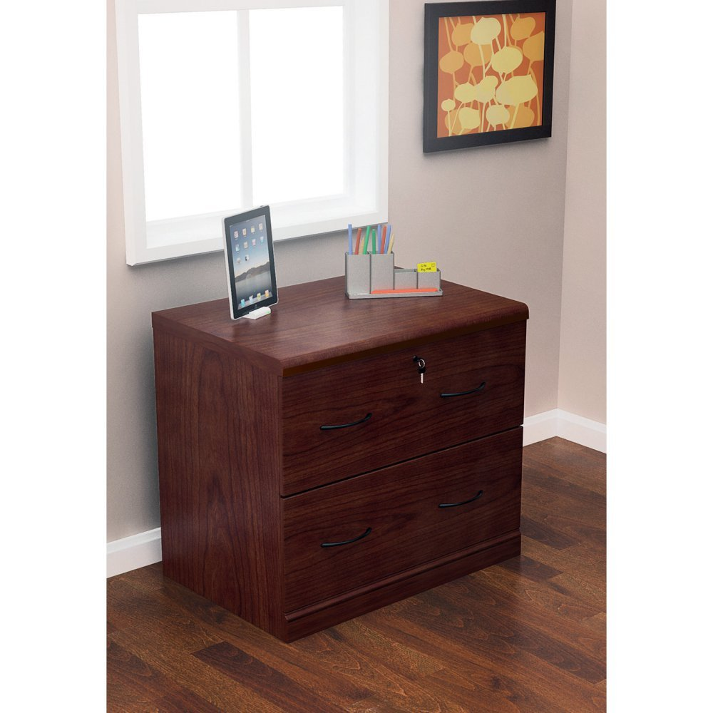 Cherry File Cabinets Amazoncom Z Line Designs 2 Drawer Lateral File Cherry Cabinet