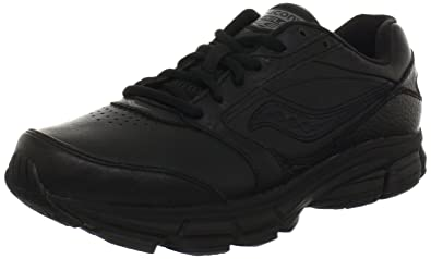 Saucony Womens Echelon LE2 Walking Shoe      Black      5 W US