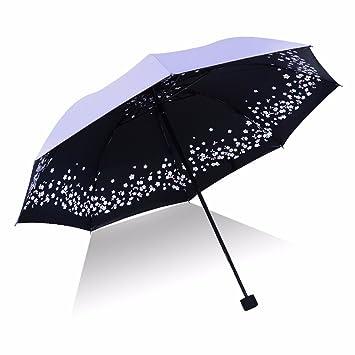 SFSYDDY-Publicidad Sombrilla Paraguas Paraguas Sombrillas Setenta por Ciento De Paraguas Plegable Paraguas Paraguas Un