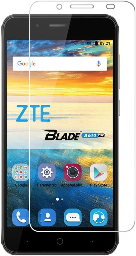 Viflykoo ZTE Blade A610 Plus Protector de Pantalla, 2-Pack Cristal ...