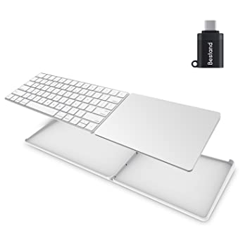 ca2f6aae8c8 Spinido Stand for Magic Trackpad 2(MJ2R2LL/A) and Apple latest Magic  Keyboard