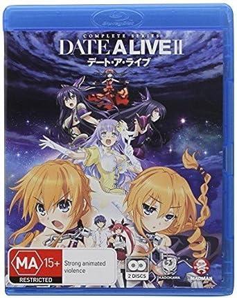 Date a Live II: Season 2 [Blu-ray]: Amazon co uk: Jamie