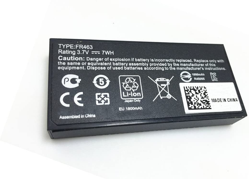 Tesurty FR463 New Replacement Battery for Dell Poweredge Perc 5i 6i P9110 1950 2900 2950 6850 6950 FR463 NU209 U8735