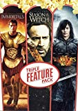 TRIPLE FEATURE PACK(IMMORTALS/SEASON OF THE WITCH/THE WARRIORS WAY)