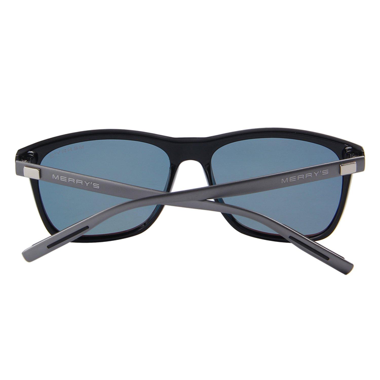 MERRY'S Unisex Polarized Aluminum Sunglasses Vintage Sun Glasses For Men/Women S8286 (Blue, 56) by MERRY'S (Image #4)
