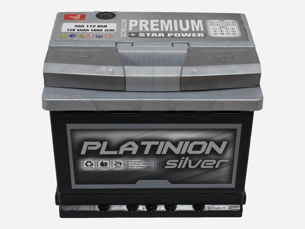Batería de coche 55Ah PLATINION PREMIUM