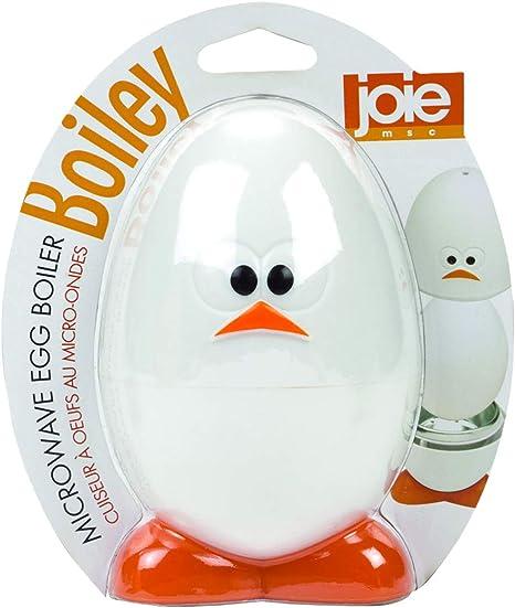 Joie Cuece Huevos microondas, Blanco, 14 cm: Amazon.es
