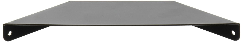 John Sterling 0051-8BK 8 in Black Over//Under Shelf Bracket