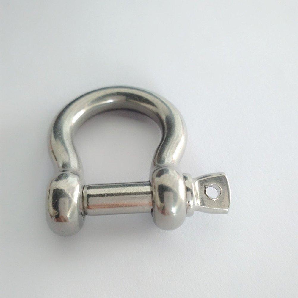 ounona forcella acciaio inox 304/con bullone di vite M8/per Lenza 2/pezzi