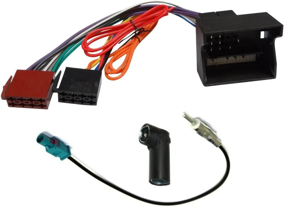 AERZETIX: Adaptador cable enchufe y antena para radio de coche C4347C2830C1871