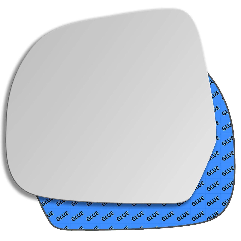Hightecpl 488LS Left Passenger Side Convex Door Wing Mirror Glass