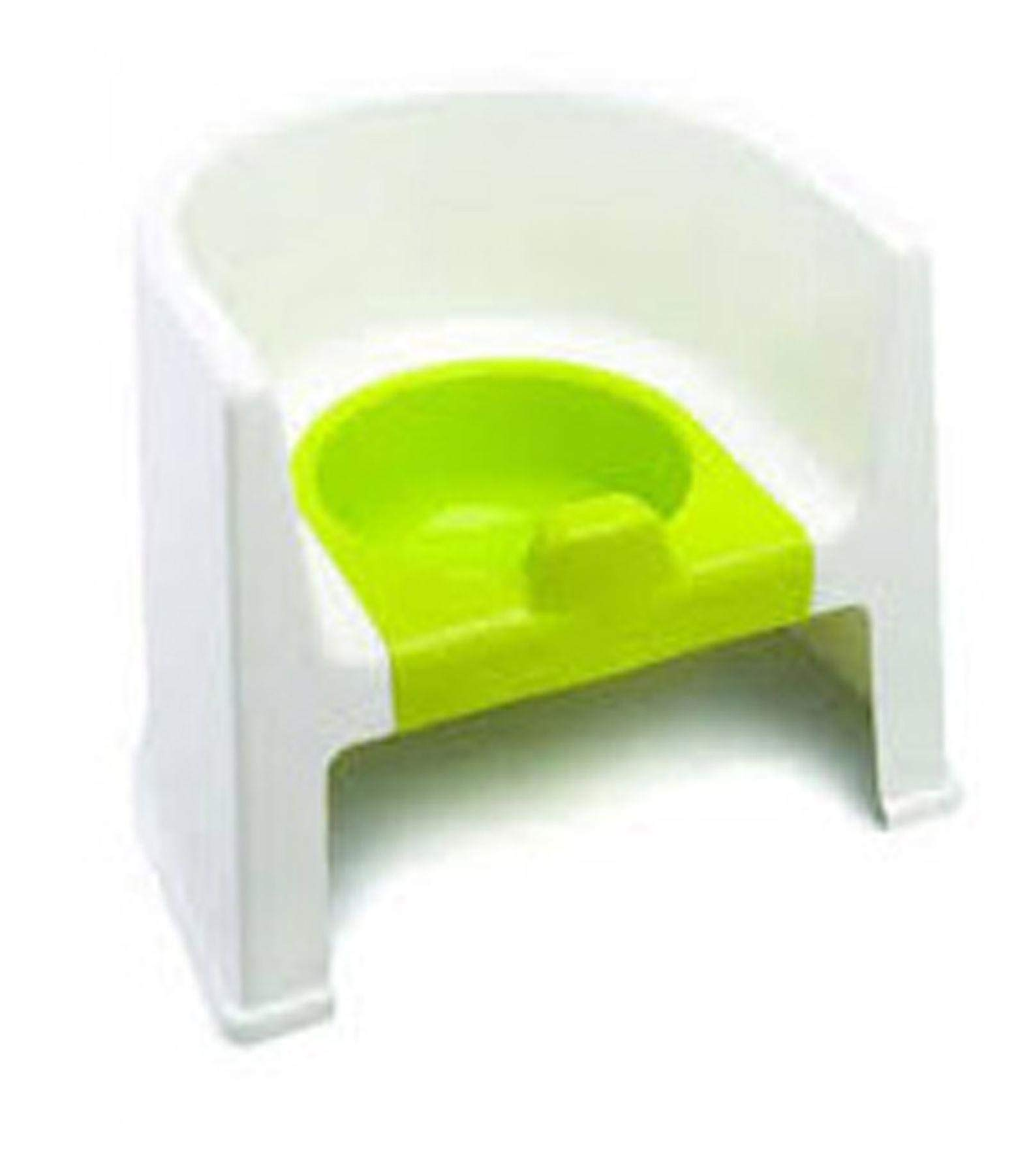 The Neat Nursery Co. Potty Chair White/Lime