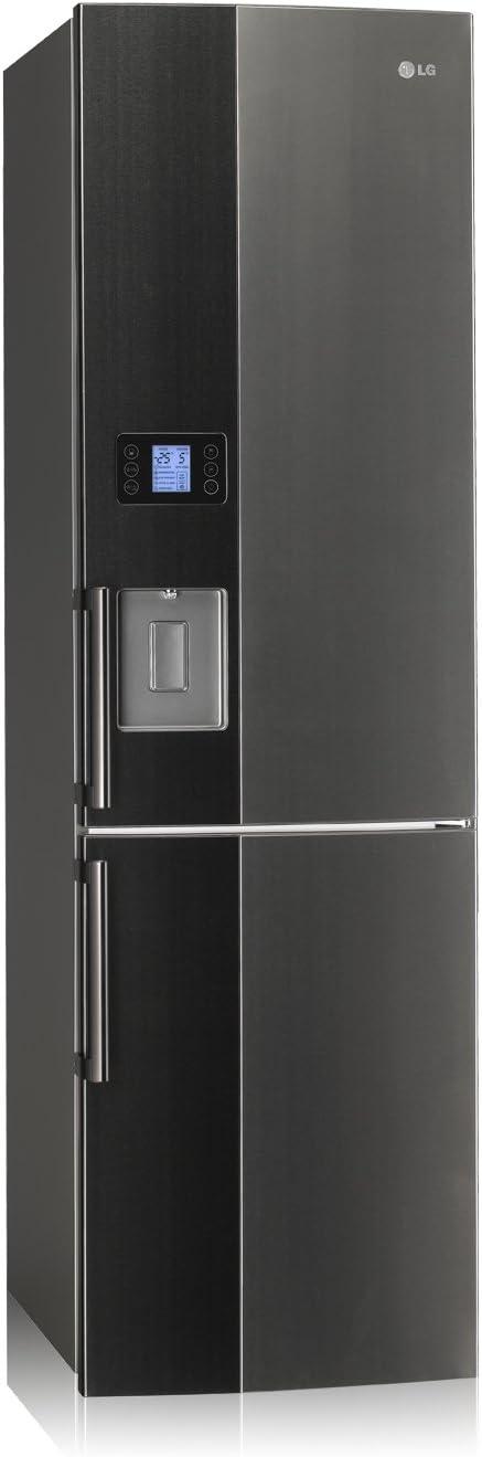LG GB7143A2HZ congeladora - Frigorífico (Independiente, Negro ...