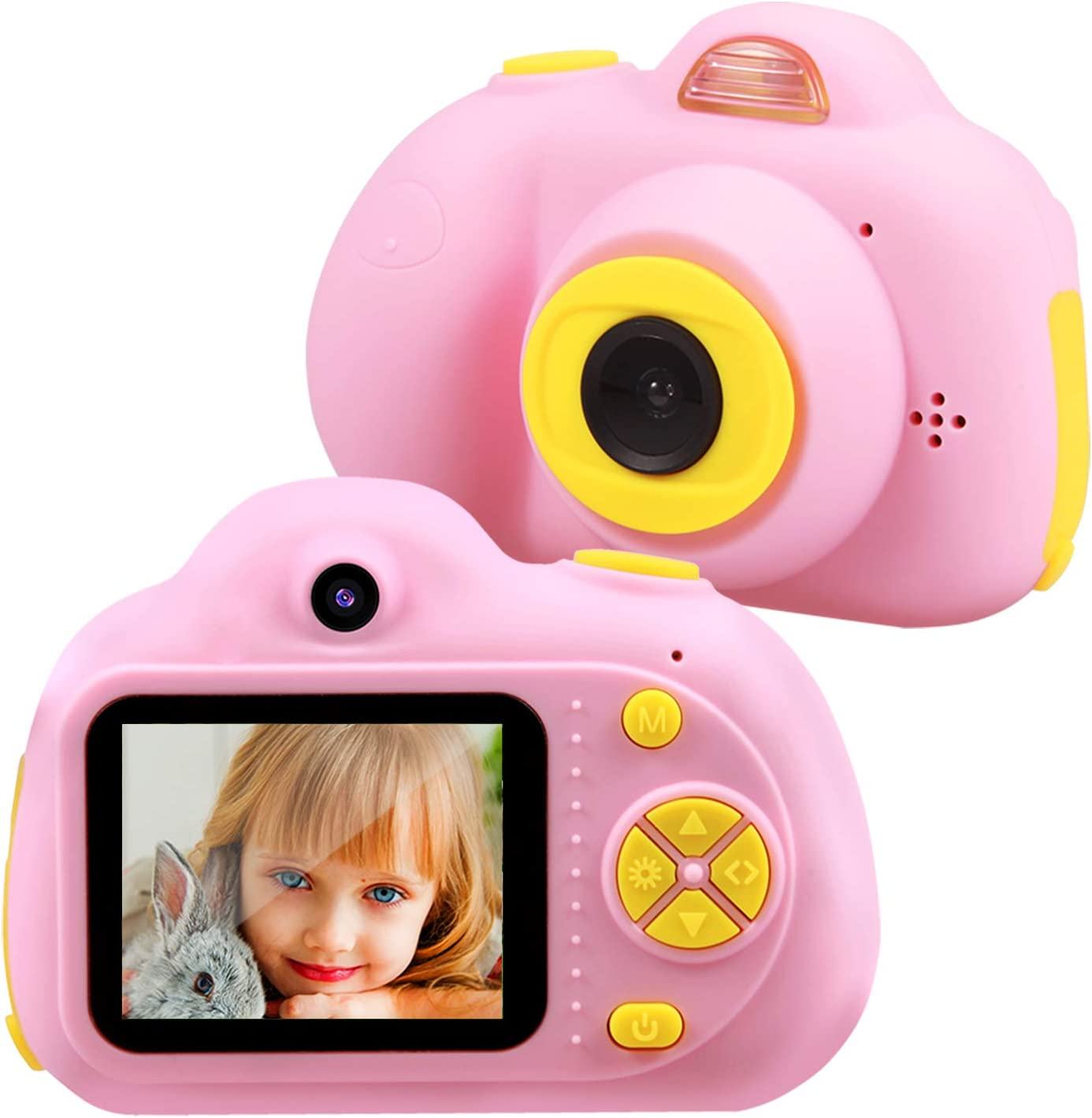 Amazon Com Tekhome Birthday Gifts For 4 5 6 Year Old Girls Kids Camera Top Toys For Girls Age 3 12 Best Gift Ideas For Christmas Easter Pink Toys Games