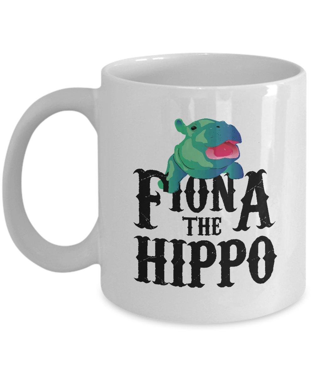 Amazon.com: Team Fiona The Hippo Love Hippopotamuss Mug: Kitchen ...